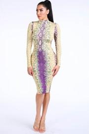 Chameleon Animal Print Dress.
