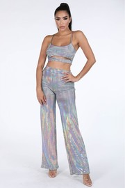 Hologram pants set.