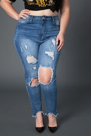 Plus Size Denim Jean.