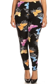 Plus Size High waist leggings.