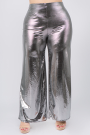 Plus Size sequin detail with Bell bottom pants