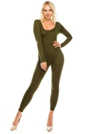 Long sleeve catsuit.