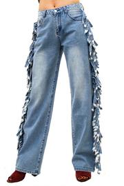 Ruffled Side Pants.