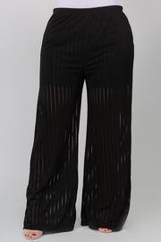 Mesh Straight Pants