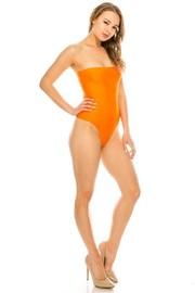 Poolside tube bodysuit.