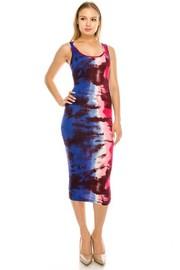 Tank Print dress.