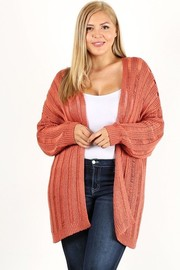 Plus Size Sweater Cardigan.