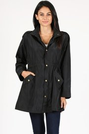 Waterproof long utility jacket.