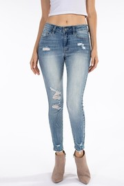 High Rise Denim Jean.