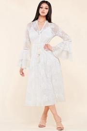 Bohemian summer midi dress