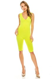 Yoga fabric jumpsuit.