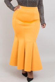 Plus Size Mermaid Skirt