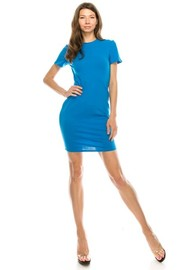 T shirt solid dress.