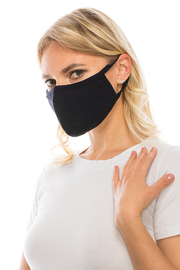 Solid double layers masks.