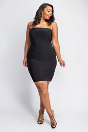 Plus Size Tube slip dress / Skirt.