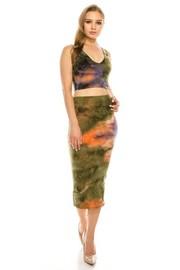 Tie Dye 2 pice Set Crop top & Skirt.