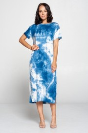 Tiedye long dress.