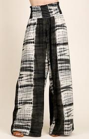 Tie-dye Smocking Pants.