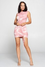 Tiedye mini dress.
