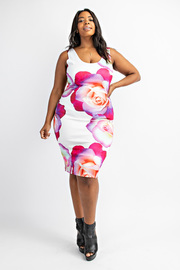 Plus Size Cami bodycon dress.