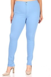 Plus Size High Rise super stretch Disco Pants.