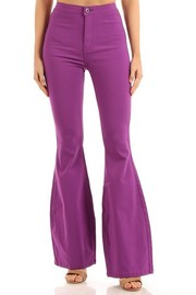 High Waist Super Stretch disco Bell Bottom Pants.