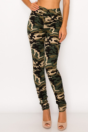 Camo Print Leggings.