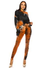 DTY Tiedye Hoodie Top & Pants Set.