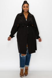 Plus Size Coat.