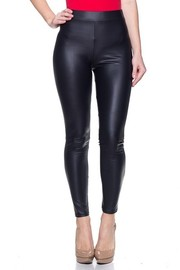 Matte Leather full length Leggings.