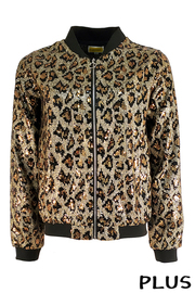 Plus Size Sequince Jacket.