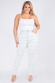 Plus Size HighRise Curvy skinny Jeans, Multiple Pieces Curvy Skinny.