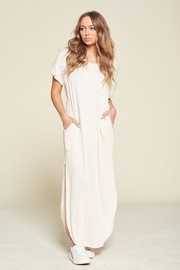 Cashmere Soft Loose Fit Maxi Dress.