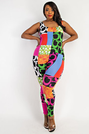 Plus Size Cami Jumpsuit.