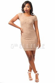 Lace Sheath SS Mini Dress