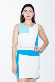 Color Block Mini Dress