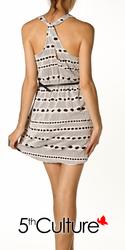 Horizontal Circle Dress