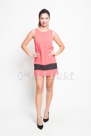 Straight Sleeveless Dress