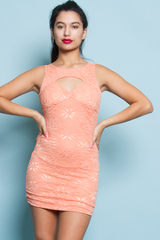 Peek-A-Boo Lace Dress