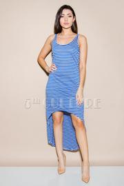 Racer Back Stripe Dress