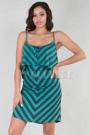 Striped Layered Dress