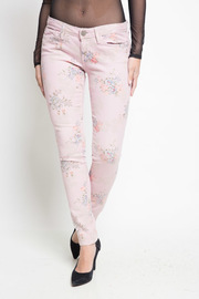 Floral Skinny Denim