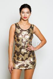 Sequins Tank Dress