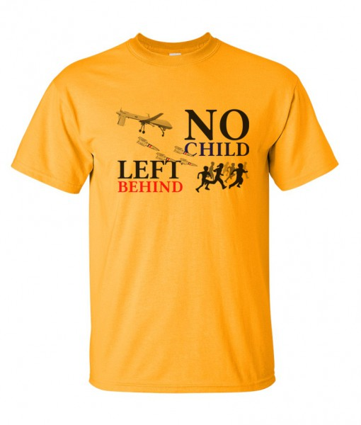 no-child-left-behind-drone-tshirt-gold