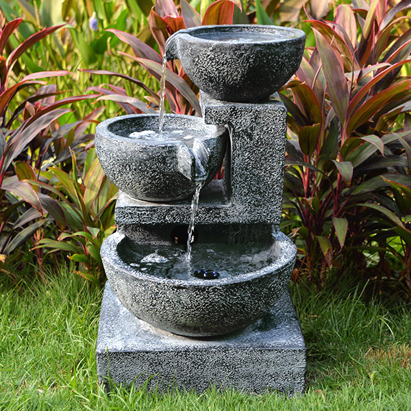 Aqua Moda Cascading Bowls Water Feature