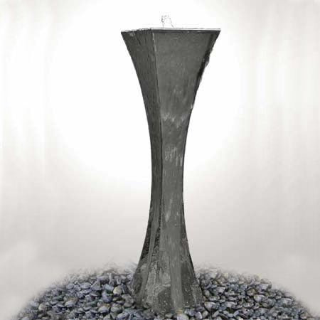 Trigno by Aqua Moda Stainless Steel Water Feature