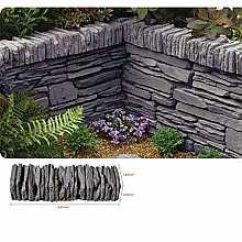 Kelkay Daleside Walling, Coping or Edging Stone Valley Slate (48 Pieces)