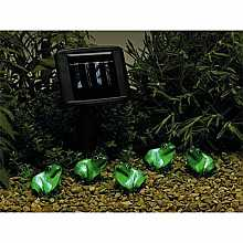 Smart Solar Freddy Frog and Friends Light String x 5