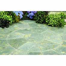 Abbey Patio Circle Kit 2.4m in Antique