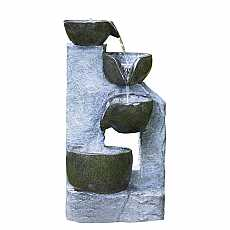 4 Bowl Granite Water Feature by Aqua Creations